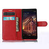 Чехол-книжка Bookmark для Xiaomi Redmi 3 red, фото 4