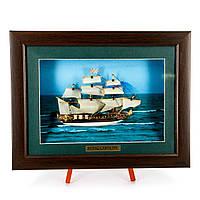 Картина модель корабля великий парусник Royal Caroline FS03