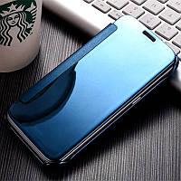 Чехол Mirror для Samsung Galaxy J3 2016 J300 J320 зеркальный Mirror Blue