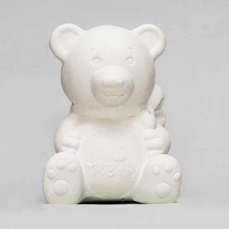 Фигурка гипс для декорирования SVT 017 Медвежонок Бейби h-10см