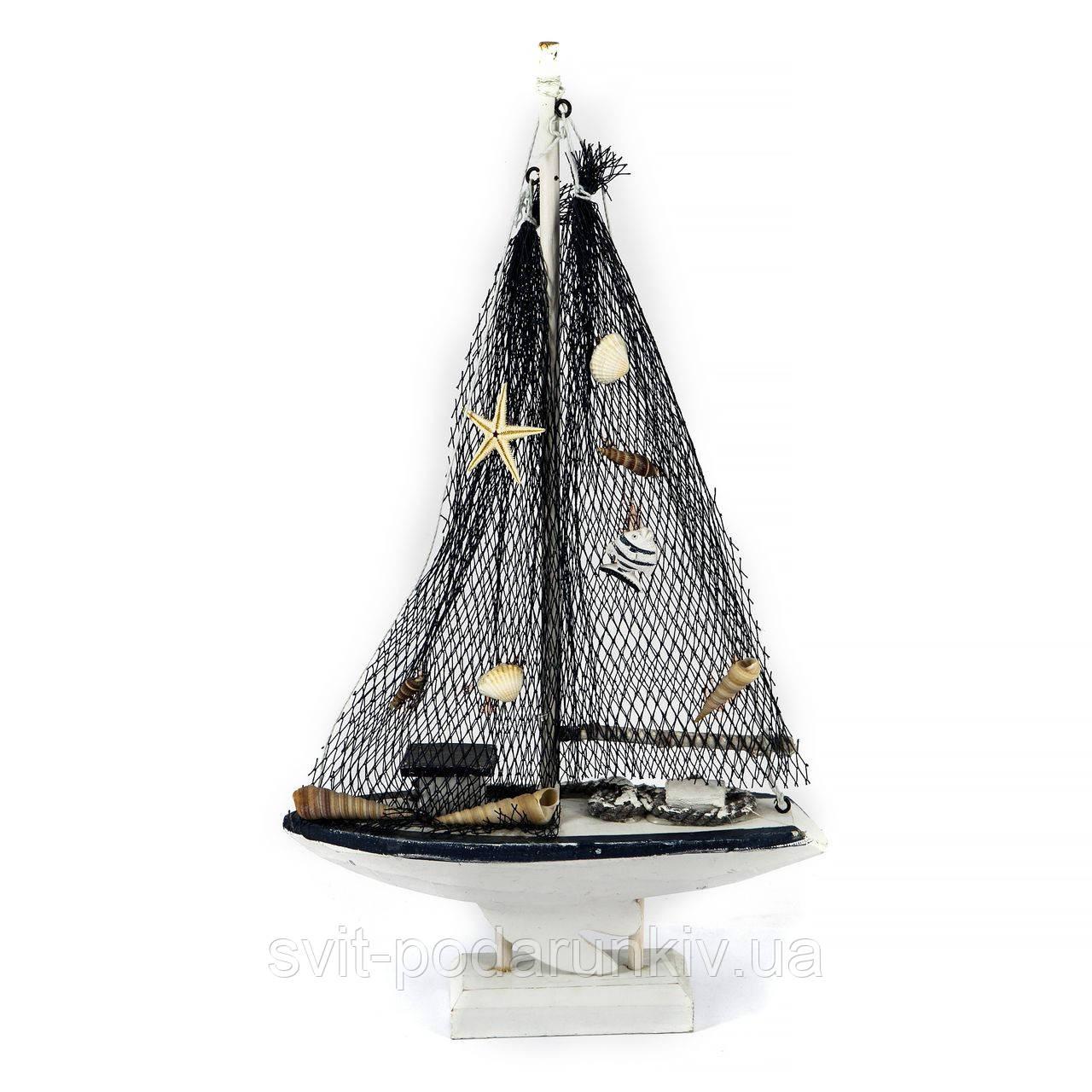 Модель парусной яхты сувенирная большая FS326B