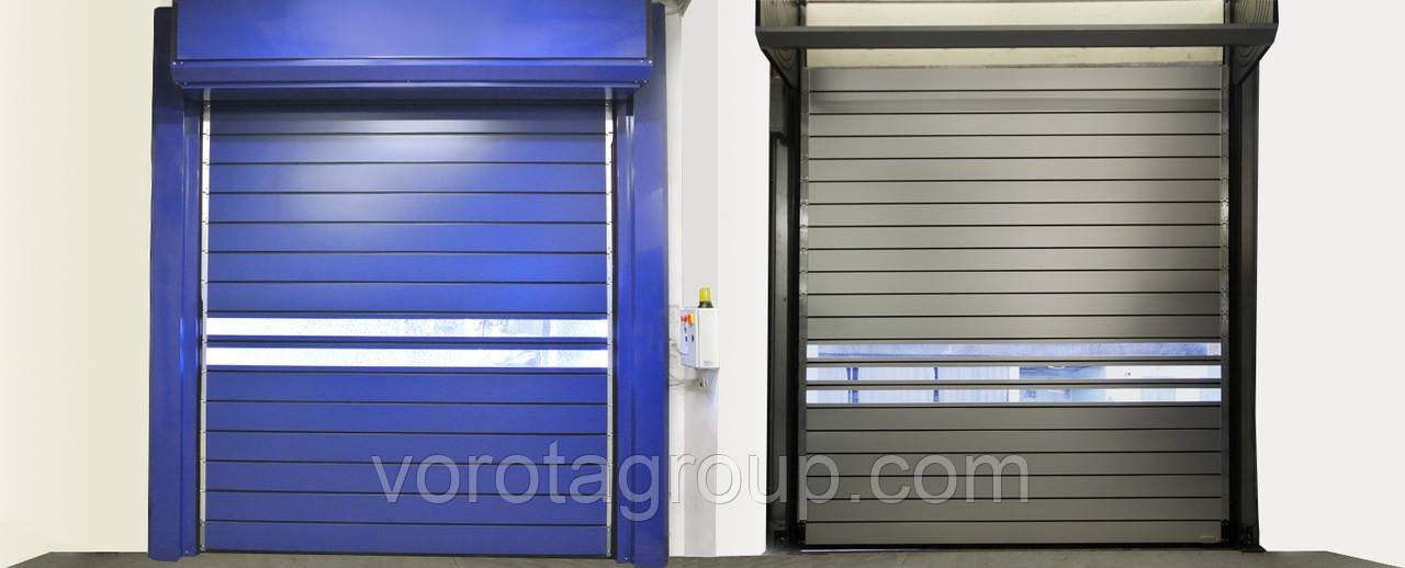 Скоростные спиральные ворота DoorHan Thermicroll 40 2.8м*2м