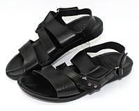 Мужские чёрные сандалии, фото 1