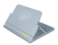 Подставка-кейс для ноутбука PORTA NOTE BOOK, серебристая (lg.16001)