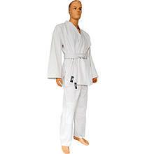 Кимоно для дзюдо белое BAD BOY (плотность 450г на м2)