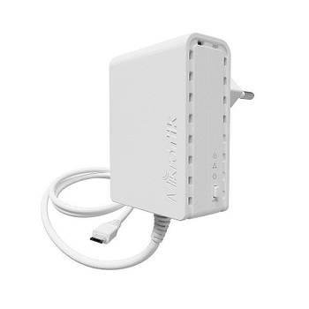 Адаптер Powerline MikroTik PL7400