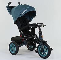 Трехколёсный детский велосипед Best Trike 9500-7474 с надувными колесами