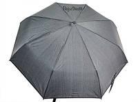 Зонт мужской Three Elephants TE34024 (черный/серая полоска)
