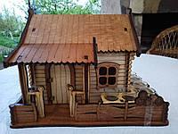 Мини-бар Домик  с рюмками