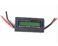 Амперметр-вольтметр-ваттметр постоянного тока 130А автомобильный электронный цифровой , фото 1