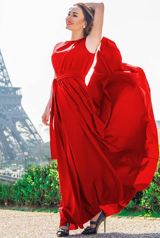 Роскошное длинное платье Ларис, 7цветов
