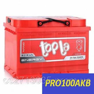 Автомобильный аккумулятор Topla energy 75 Ач 750 А (0) R+