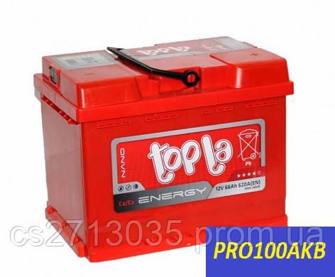 Автомобильный аккумулятор Topla energy 66 Ач 620 А (0) R+