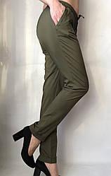 Женские летние штаны, софт №13 БАТАЛ