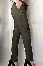Женские летние штаны, софт №13 БАТАЛ, фото 2
