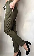 Женские летние штаны, софт №13 БАТАЛ, фото 3