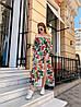 Платье с принтом, ткань: софт( хлопок с вискозой).  Размер:  С(42-44)М(44-46). Разные цвета (6379), фото 2