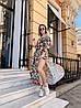 Платье с принтом, ткань: софт( хлопок с вискозой).  Размер:  С(42-44)М(44-46). Разные цвета (6379), фото 4