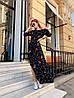 Платье с принтом, ткань: софт( хлопок с вискозой).  Размер:  С(42-44)М(44-46). Разные цвета (6379), фото 6