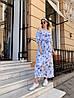 Платье с принтом, ткань: софт( хлопок с вискозой).  Размер:  С(42-44)М(44-46). Разные цвета (6379), фото 9
