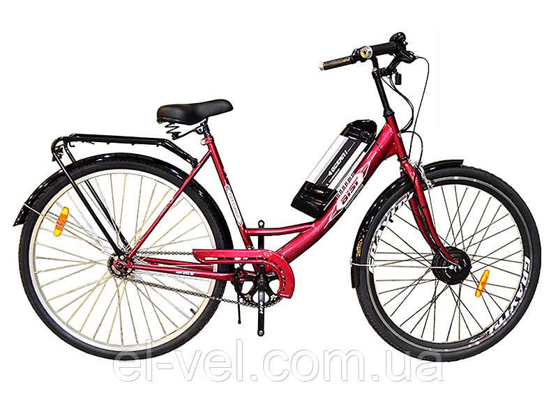 Электровелосипед АИСТ28  XF04 36В 300Вт литиевая батарея