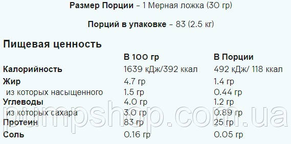Многокомпонентный протеин MyProtein Total Protein Blend 1000 г, фото 2