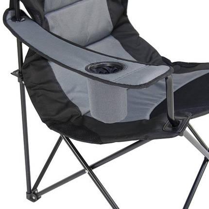 """Кресло """"Мастер Карп"""" - серый Time Eco, фото 2"""