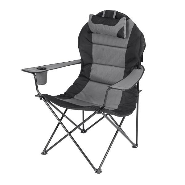 """Кресло """"Мастер Карп"""" - серый Time Eco"""
