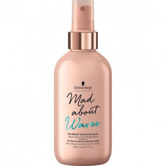 Schwarzkopf  MAW Sea Blend Texturizing Spray  Текстур. спрей для объема волнистых волос 200 мл