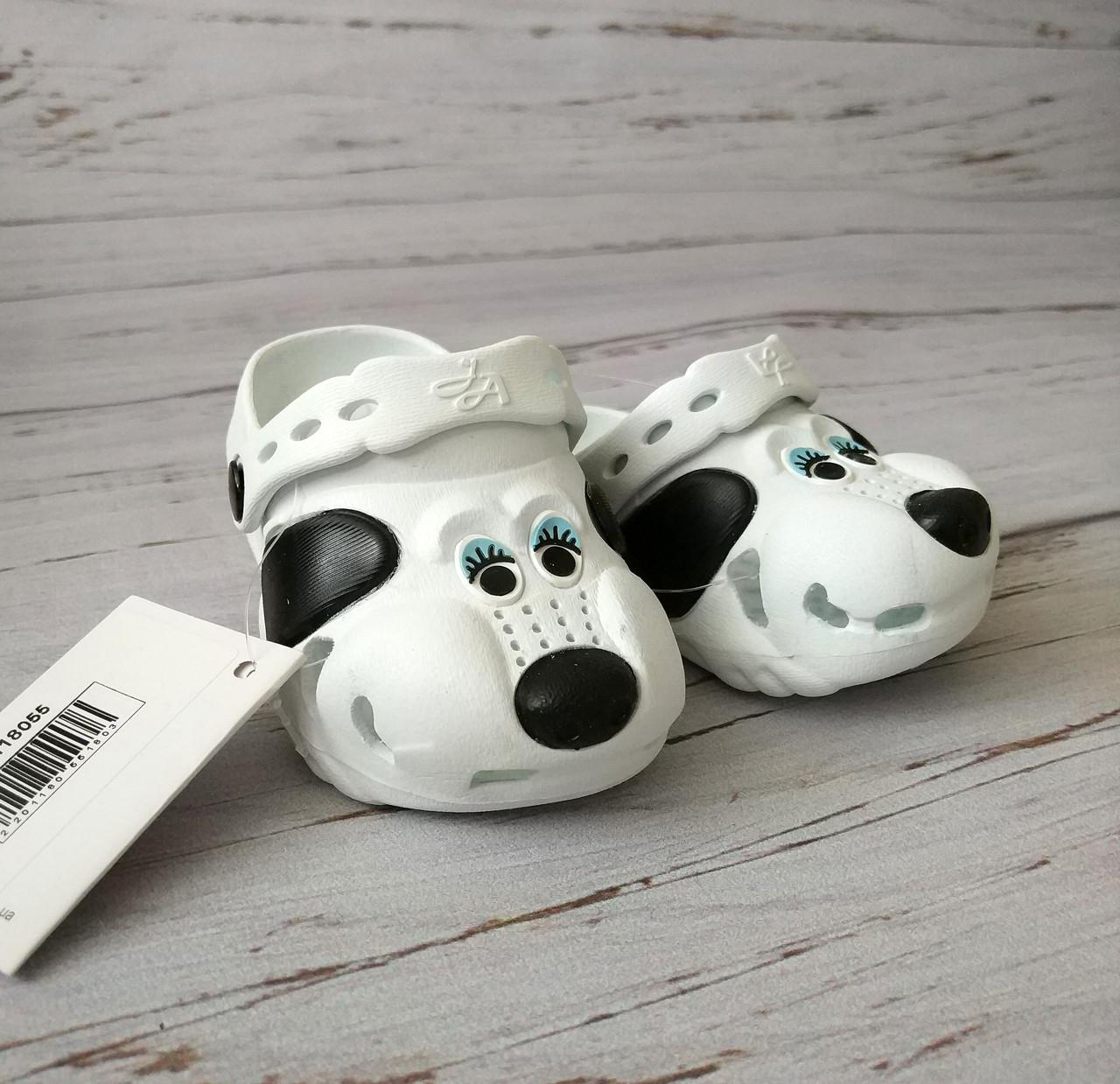 Детские кроксы/сабо унисекс собачки