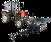 Навесной асфальтоукладчик PAVIJET MG7 на трактор МТЗ