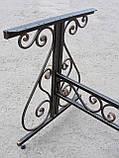 Каркас стола садового кованого ( 120x60 см), фото 9