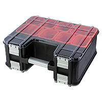 Органайзер двухсторонний с металлическими замками Profi 390×325×163мм Ultra Sigma 7417452