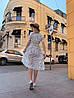Платье с принтом, ткань: софт(хлопок с вискозой) .  Размер:  С(42-44)М(44-46). Цвет: белый (6385), фото 3