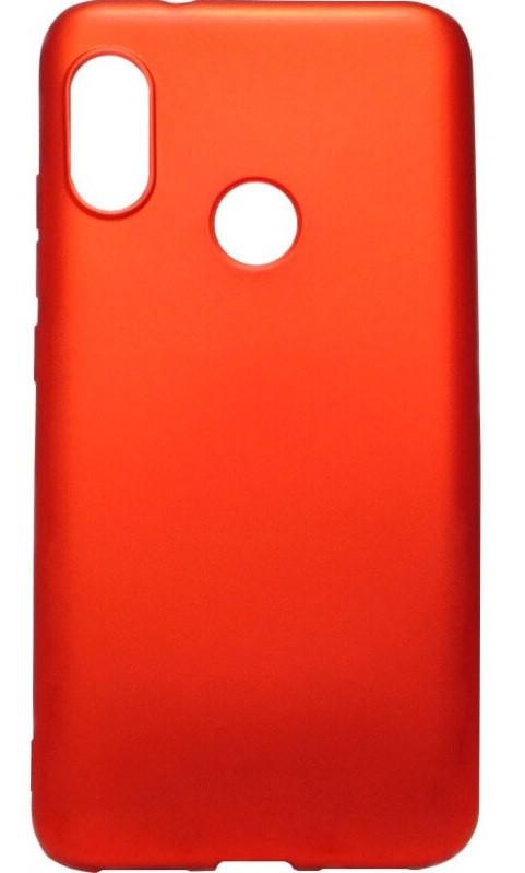 Силикон Xiaomi Mi A2 Lite/Redmi6 Pro red Soft Touch Remax
