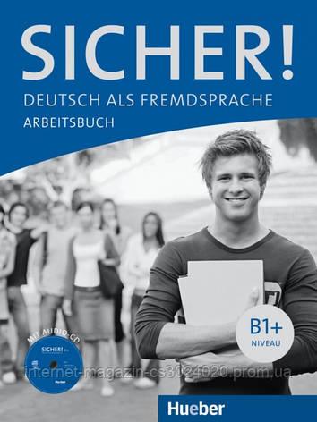 Sicher! B1+, Arbeitsbuch mit Audio-CD ISBN: 9783190112067, фото 2