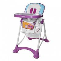 Стульчик для кормления CARELLO Chef фиолетовый