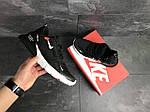 Мужские кроссовки Nike Air Max 270 (черно-белые), фото 4