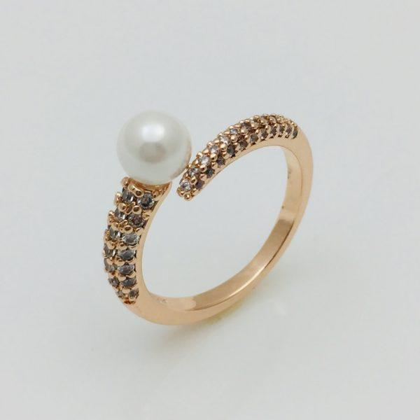 Кольцо Таврида,  позолота 18К , размер 17