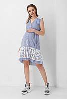 Летнее платье в полоску для беременных и кормящих 1954 1034, фото 1