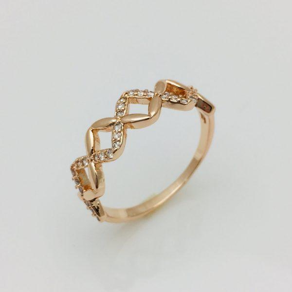 Кольцо Гарли, позолота 18К , размер 18, 19, 20