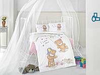 Постельное белье в детскую кроватку 100*150 Хлопок (TM Clasy) masal-v1, Турция