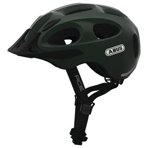 Шолом велосипедний ABUS YOUN-I ACE L Metallic Green, фото 2