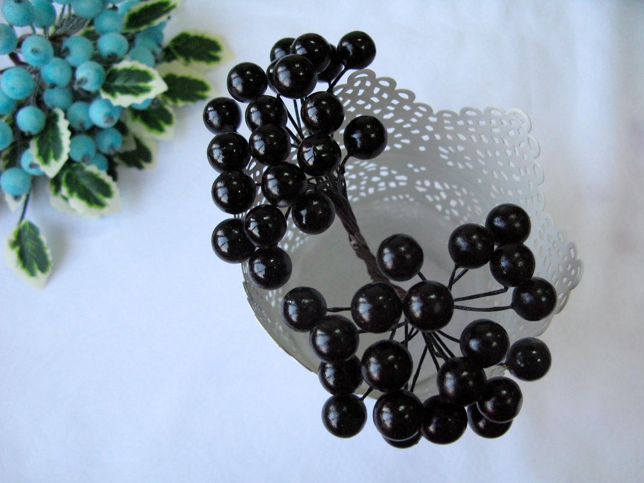 Ягоды гладкие 10 мм черные