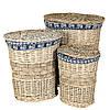 Набор корзин для белья (3 шт.)