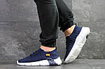 Чоловічі кросівки Nike (темно-сині з білим), фото 6