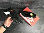 Мужские кроссовки Nike (Черно-белые), фото 3