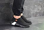 Мужские кроссовки Nike (Черно-белые), фото 6