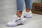 Женские кроссовки Adidas SPIY-550 (белые), фото 3