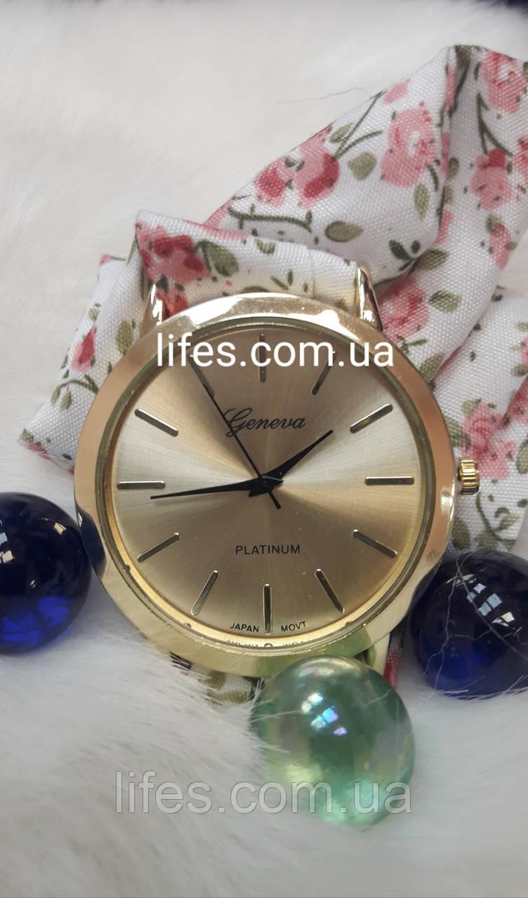 Женские часыDuoblaGeneva тканевый ремешок